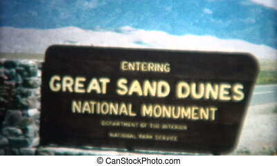 8mm Vintage 1966 Great Sand Dunes - Original vintage 8mm...