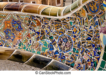 Parc Guell by Gaudi, Mercat de la Boqueria, Sagrada National...