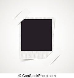 Blank photo frame corner - This image was made by Adobe...