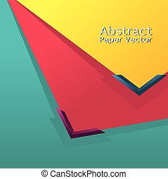 Abstract Paper Background.