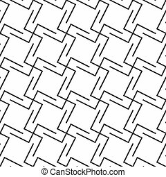seamless geometric ornament abstract