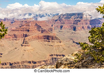 View from Hopi point - Grand Canyon North Rim
