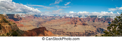 View from Hopi point - North Rim of Grand Canyon - Grand...