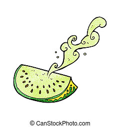 cartoon melon