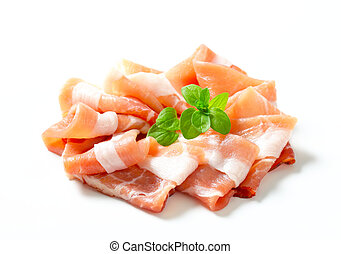 Prosciutto di Parma - Thin slices of Parma ham