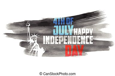 Fourth of July Happy Independence Day America