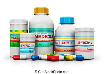 Medical supplies - Creative abstract healthcare, medicine...