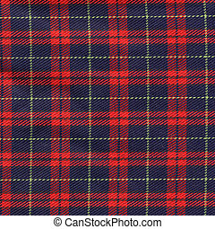 Tartan background - Traditional Scottish tartan textile...