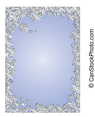Blue New Year Background - Delicate background for your...