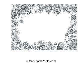 Cosmic grayscale background - Unusual abstract background,...