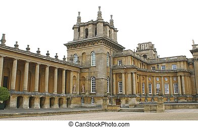 Blenheim Palace in Woodstock, UK - Blenheim Palace in...