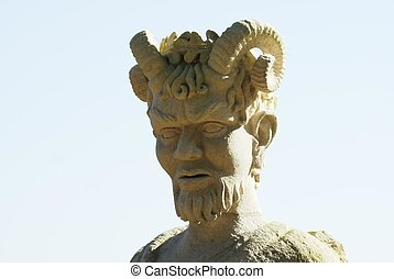 pan statue - Pan in Greek mythology is the God of nature