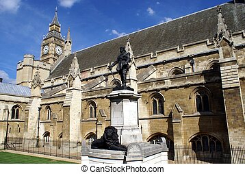 The Palace of Westminster,London,UK - British landmark