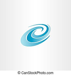 blue water wave vector element