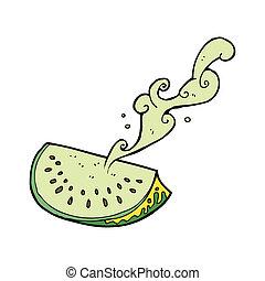 cartoon melon