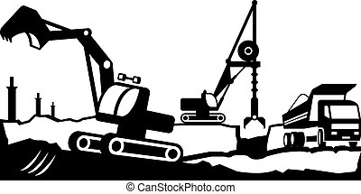 Building excavation equipment - Building excavation and...