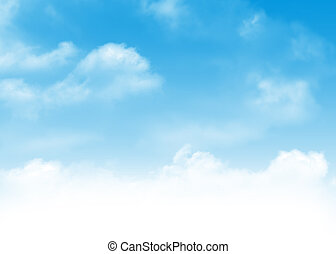 Blue sky and clouds background - Blue sky and clouds...