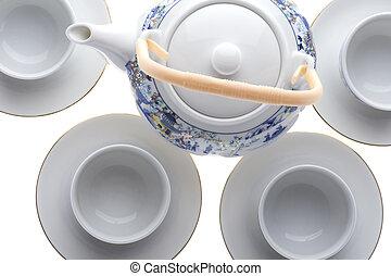 tea serviette closeup