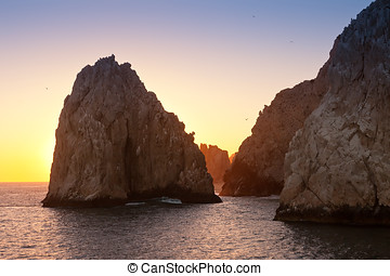 Land's End in Cabo San Lucas, Mexico - The rock formation...
