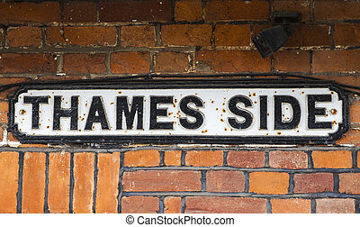 Thames Side in Windsor, Berkshire