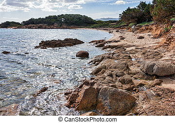Mannena beach in Sardinia