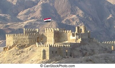 Fortress in Egypt - Salah El-Din Fortress on Pharaoh Island...