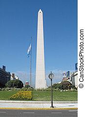 Obelisco - Obelisk in Buenos Aires, Argentina