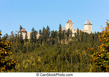 ruins of Kasperk Castle, Czech Republic