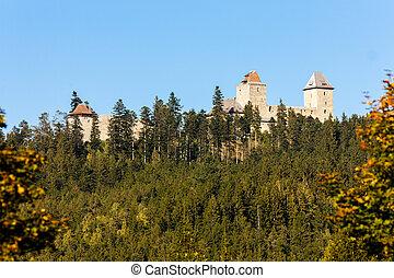 ruins of Kasperk Castle, Czech Republic