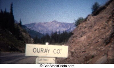 8mm Vintage 1966 Ouray Colorado - Original vintage 8mm home...