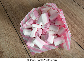marshmallows - sweet confectionery product - marshmallows...