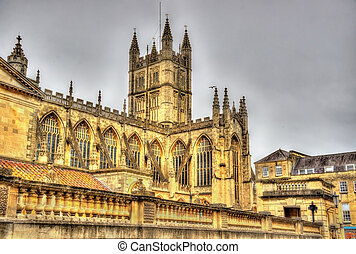 The Abbey Church of Saint Peter and Saint Paul in Bath -...