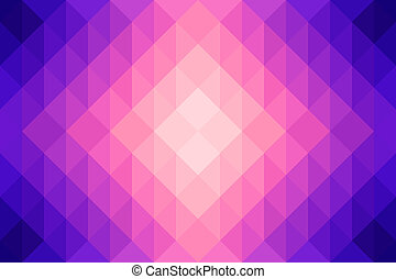 coloré, polygone, résumé, backgroun,