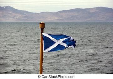 Fahne, Blasen, brise, schottische