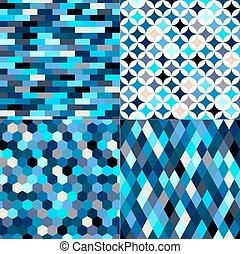 multicolor geometric pattern