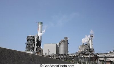 Industrial plant - Industrial refinery plant