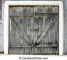 wood key of door
