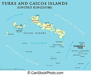 Turks and Caicos Islands Political - Turks and Caicos...