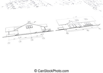 architectural drawings of new house