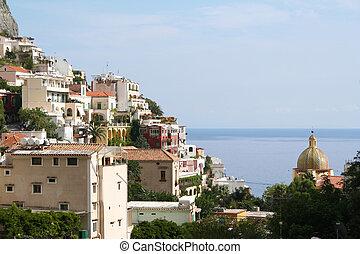 Italy, Positano  -  Italy. Amalfi coast. Positano