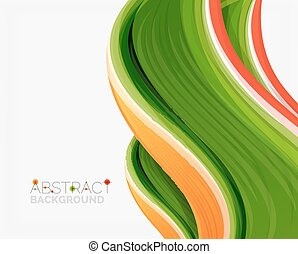 Abstract realistic solid wave background