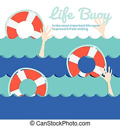 Life Buoy - Life Buoy Vector Illustration