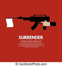 Surrender - Surrender Vector Illustration