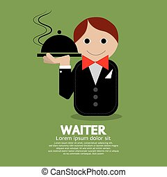 Waiter - Waiter Vector Illustration