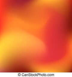 Abstract Gradient Blur Background - Abstract orange blur...