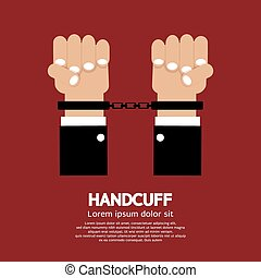 Handcuff - Handcuff Vector Illustration