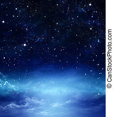 deep space, abstract background - deep space, abstract blue...
