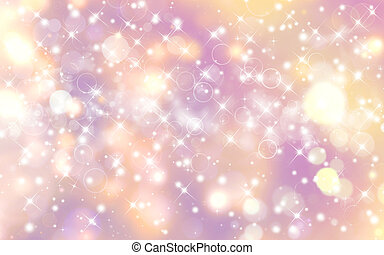 Glittery festive background with stars