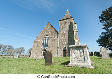St Clement Church - 12th century stone church of St Clement...