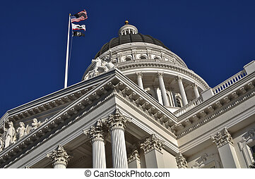 Sacramento - Capital Building in Sacramento California